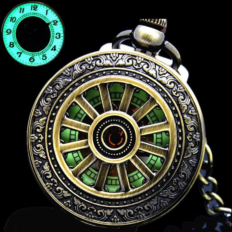 """The Phantom"" Luminous Pocket Watch"