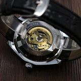 """The Photon"" Photochromic Self-Winding Skeleton Watch"