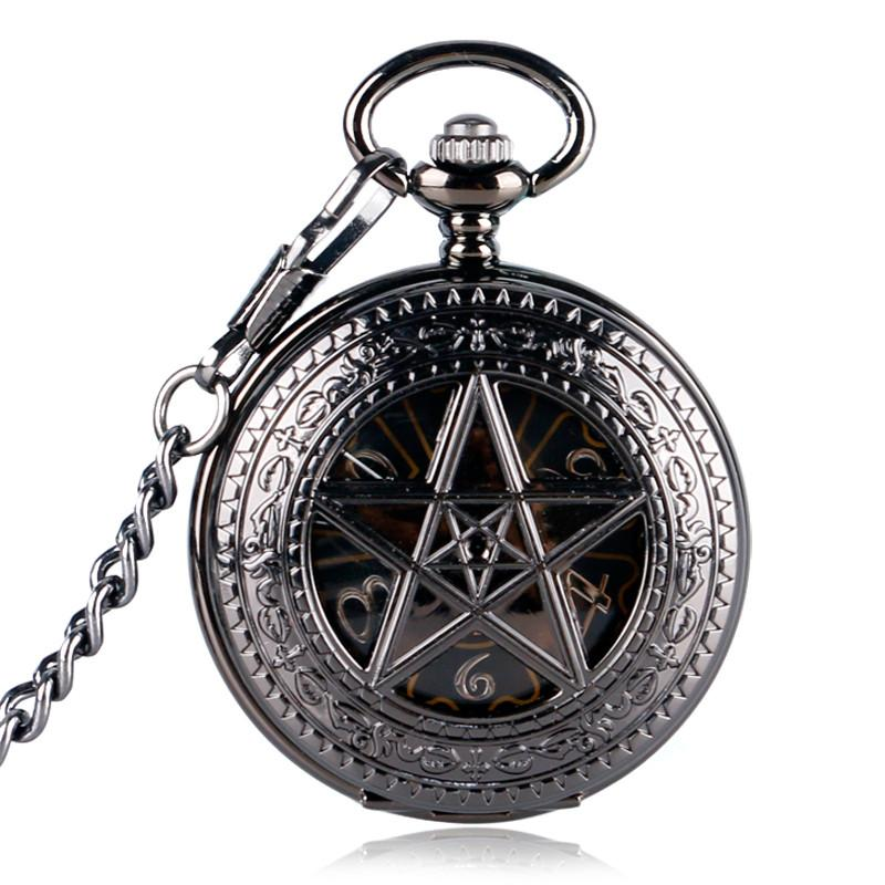 """Penta"" Mechanical Pocket Watch"