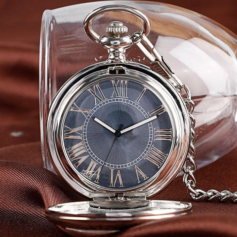"""The Ghost"" Automatic Pocket Watch"
