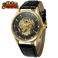 """The Admiral"" Luxury Skeleton Watch"