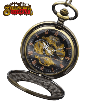"""The Bronze Mechanic"" Pocket Watch"