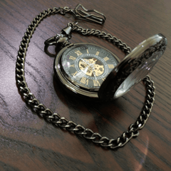 The Black Pearl™ Pocket Watch