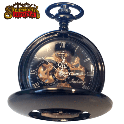 """The Mechanic"" Pocket Watch"