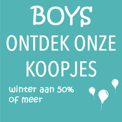 Winteroutlet BOYS tot 14 jaar
