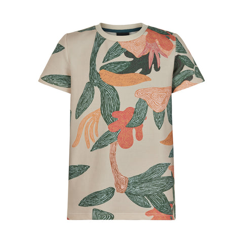 THE NEW T-shirt met coole alloverprint in leuke kleurenmix jongens