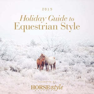 Foals Featured in Horse & Style's Gift Guide