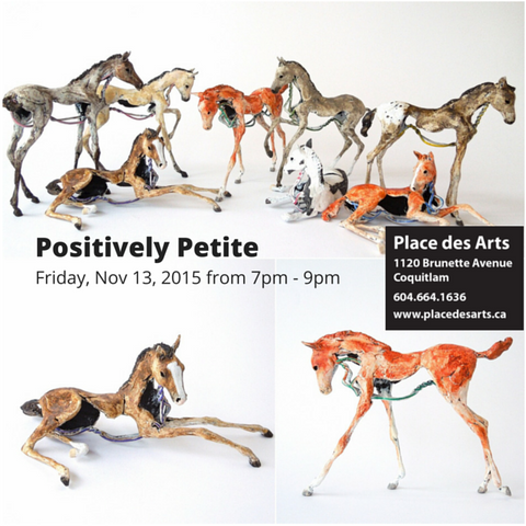 Positively Petite art show miniatures horses
