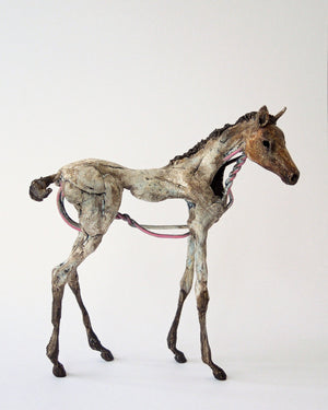 Susie Benes - Foals Rush In series horse art - 5