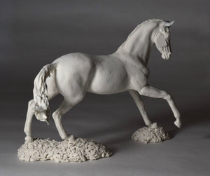 "Sculpt your own 6"" tall horse from clay"