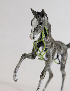 Susie Benes - Foals Rush In series horse art - 1