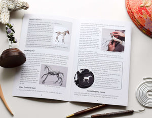 Sculpting Horses in Air Dry Clay Book