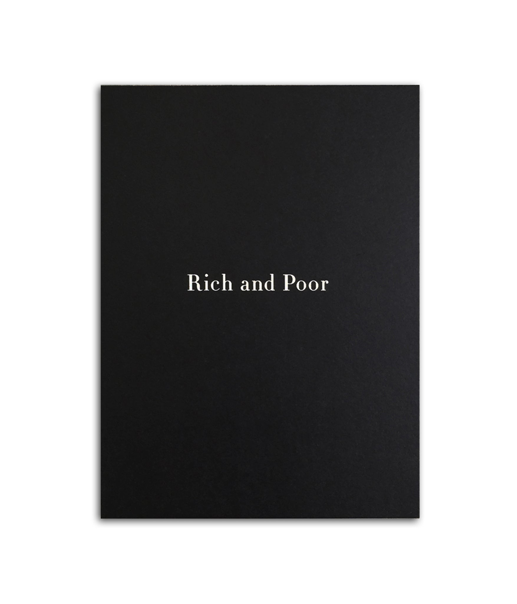 Rich and Poor 25th Anniversary