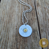 12 Gauge Shotgun Shell Earring and Necklace Set
