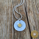 Men's or Women's 20 Gauge Shotgun Shell Necklace