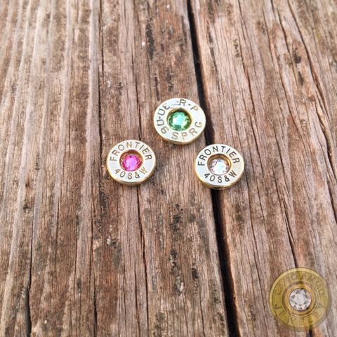 Floating Bullet Casing Charm for Locket Necklaces