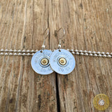 20 Gauge Shotgun Shell Dangle Earrings