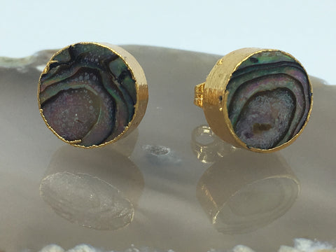 Abalone Stud Earrings