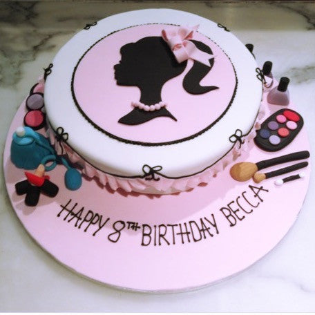 Girl Birthday Cake Ideas   Giuliana s Cakes