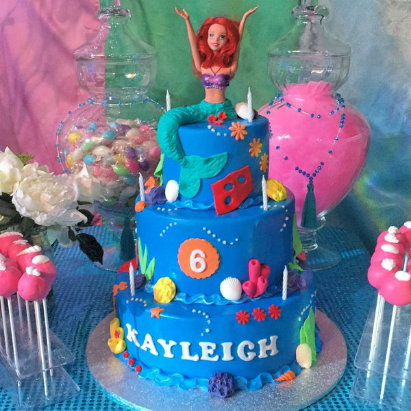 Mermaid Cake by Giuliana's Cakes