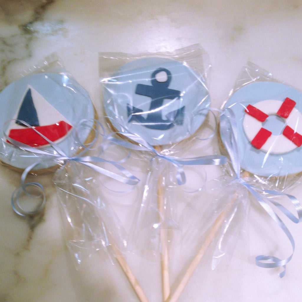 Ships Ahoy Cookies