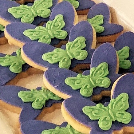Tinkerbell Butterfly Cookies
