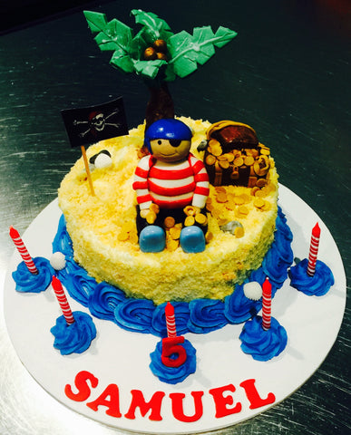 Treasure Island Pirate cake