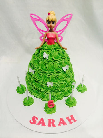 Tinkerbell Doll Cake