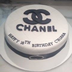 Designer-Chanel inspired cake