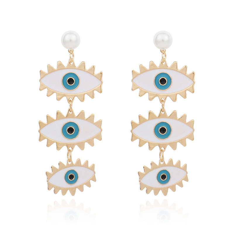Eirene Eye Earrings