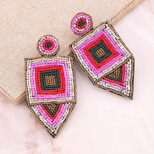 Achelois Beaded Earrings