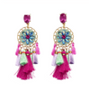 Aegle Tassel Earrings