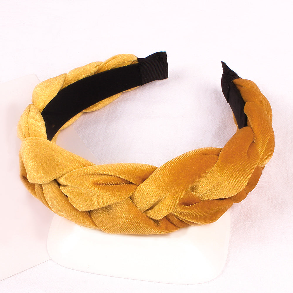 Oduda Velvet Braided Hairband