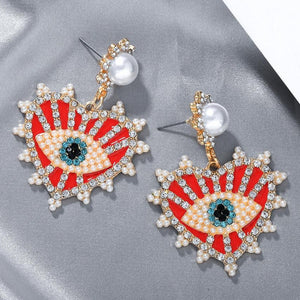 Arche Heart Earrings