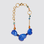 Agwe Blue Conch Necklace