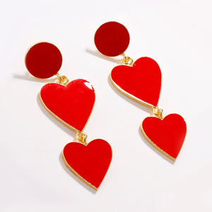 Yue-Lao Hearts Earrings