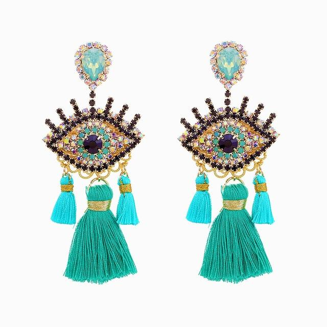 ABNOBA Earrings Rebeldy Teal