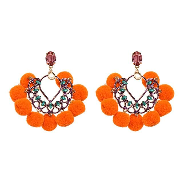 ADITI Earrings Rebeldy Orange