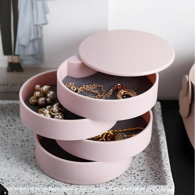 AGARTHA Jewelry Organizer Rebeldy Pink