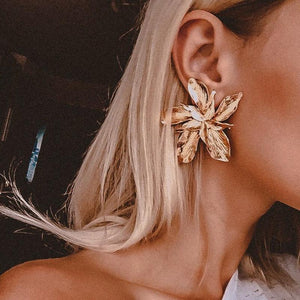 AIRMED Earrings Rebeldy Gold