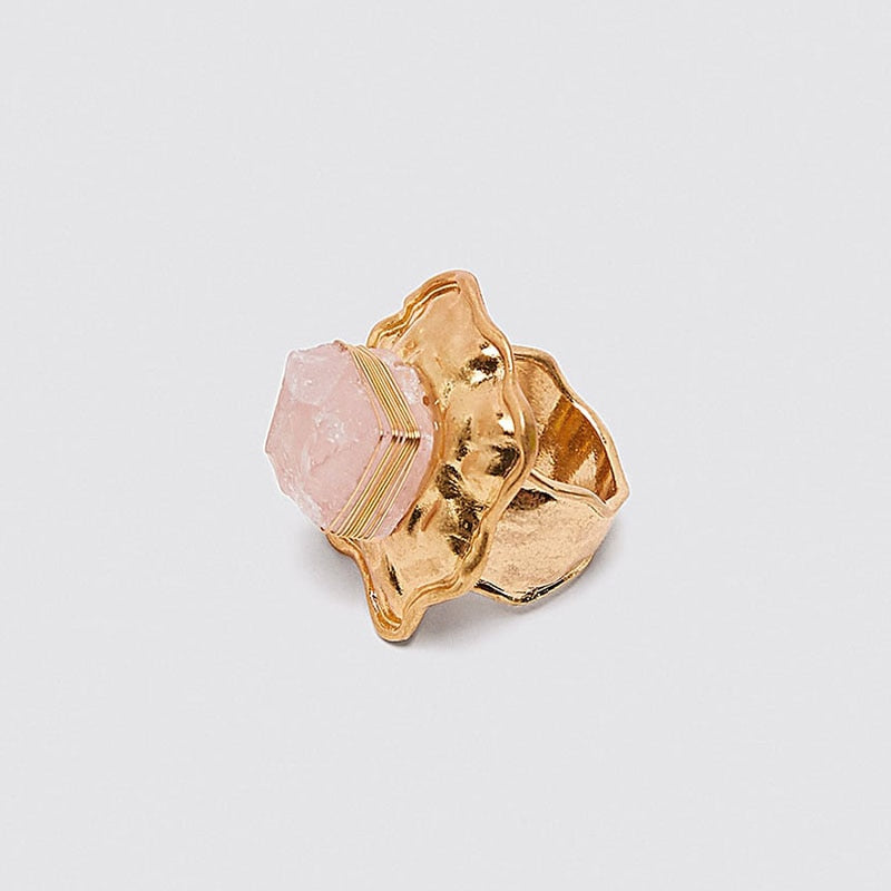 Creusa Rose Quartz Ring
