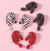 Aife Zebra Earrings