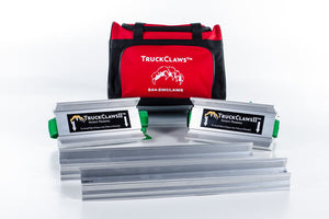 "TruckClaws II™ Emergency Tire Traction Aid W/ 10"" Extender Bar Combo Kit"