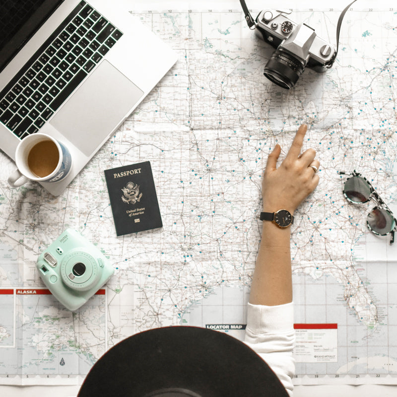 5 Travel Tips That'll Keep You Organized and Reduce Your Stress