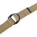 Mens And Womens D-Ring Canvas Belt Khaki S