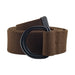 Mens And Womens D-Ring Cavas Belt Brown L