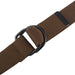Mens And Womens D-Ring Cavas Belt Brown XXL