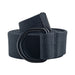 Mens And Womens D-Ring Canvas Style Belt Dark Grey XXL