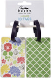 Geometric  Luggage ID Tag
