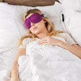 40 Blinks Sleep Mask - Plum